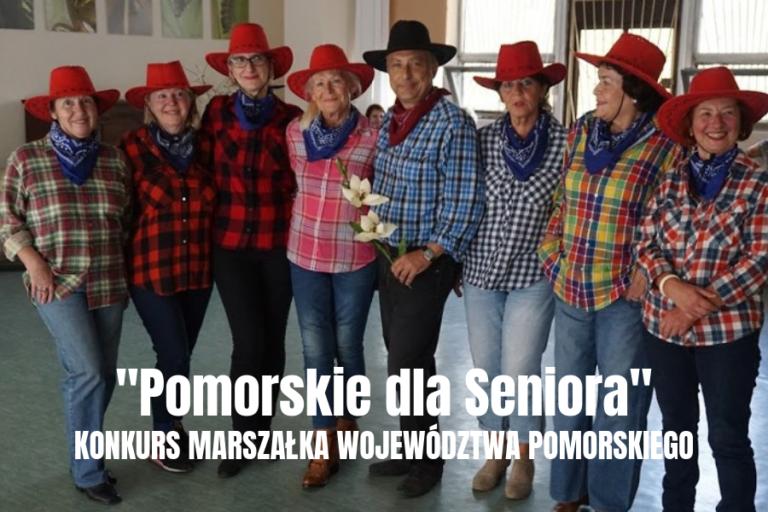 """""""POMORSKIE DLA SENIORA"""" KONKURS O NAGRODĘ MARSZAŁKA WOJEWÓDZTWA POMORSKIEGO"""