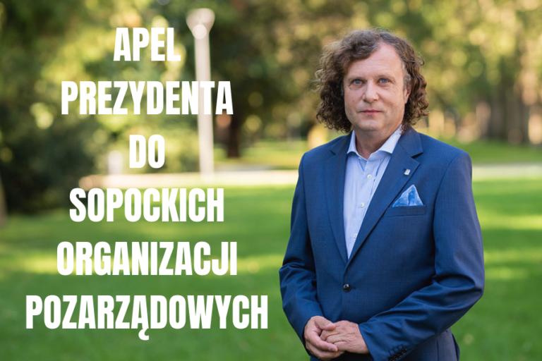Apel Prezydenta do sopockich organizacji pozarządowych