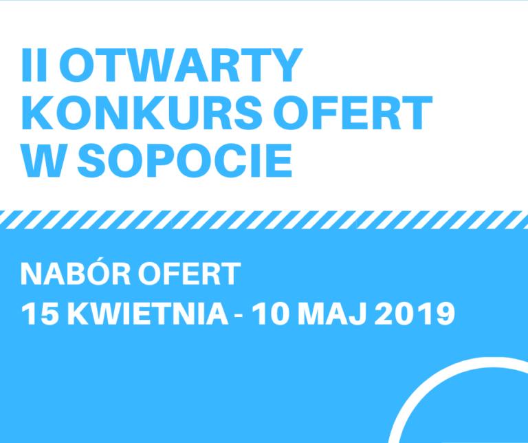 Trwa II Otwarty Konkurs Ofert w Sopocie. Aplikuj