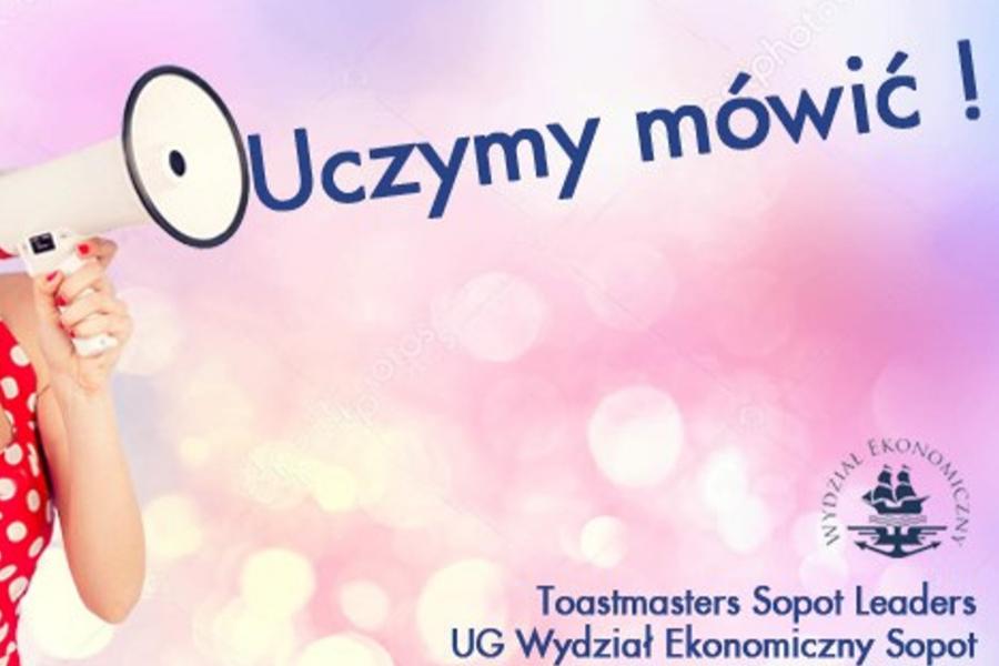 Cykliczne zajęcia Toastmasters Sopot Leaders | każdy poniedziałek
