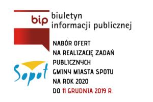 I OTWARTY KONKURS OFERT W SOPOCIE   NABÓR OFERT DO 11 GRUDNIA 2019 R.