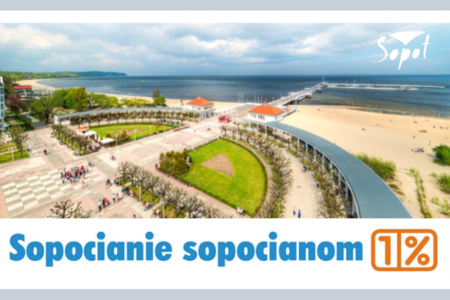 Wspieraj lokalnie – rozlicz PIT w Sopocie i przekaż 1% sopockim OPP