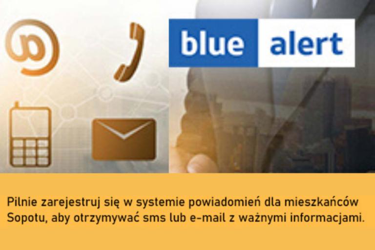 BlueAlert – szybki system powiadamiana specjalnie dla sopocian