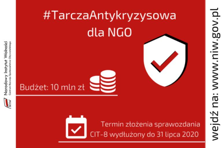 #TarczaAntykryzysowa dla NGO