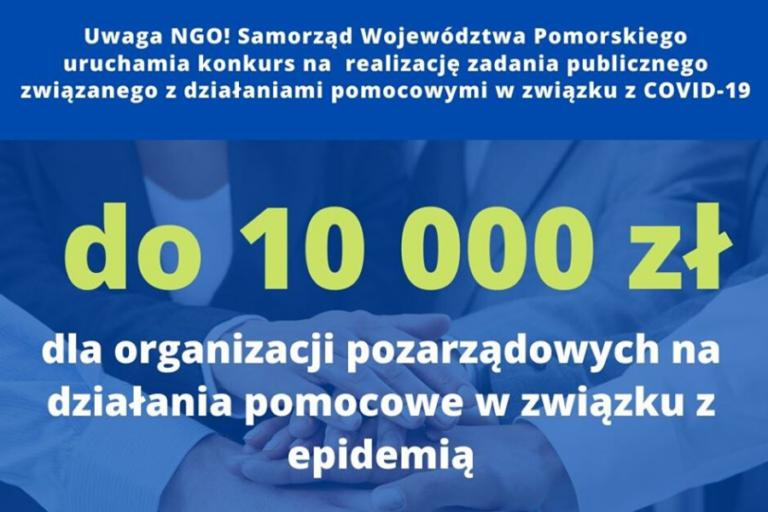 Wsparcie dla NGO w związku z COVID-19 | 4 maja 2020