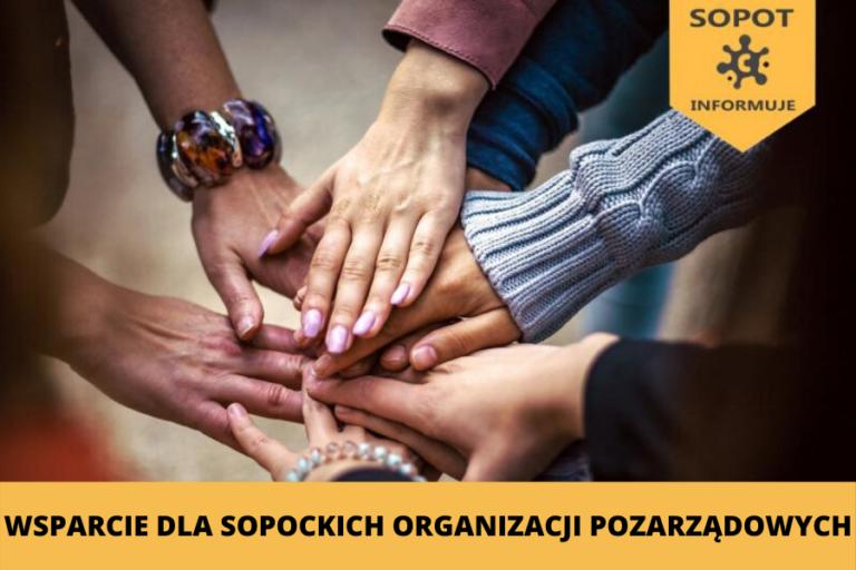 Specjalny pakiet wsparcia dla sopockich organizacji pozarządowych
