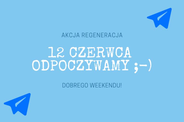 BIURO SCOPiW ZAMKNIĘTE 12 CZERWCA!