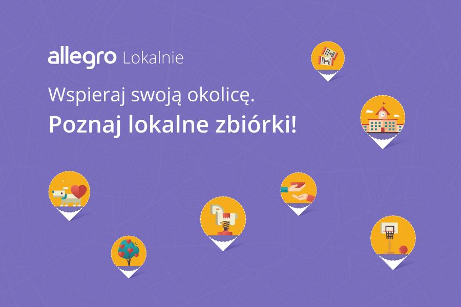 Allegro Lokalnie | nowy sposób na pozyskanie funduszy