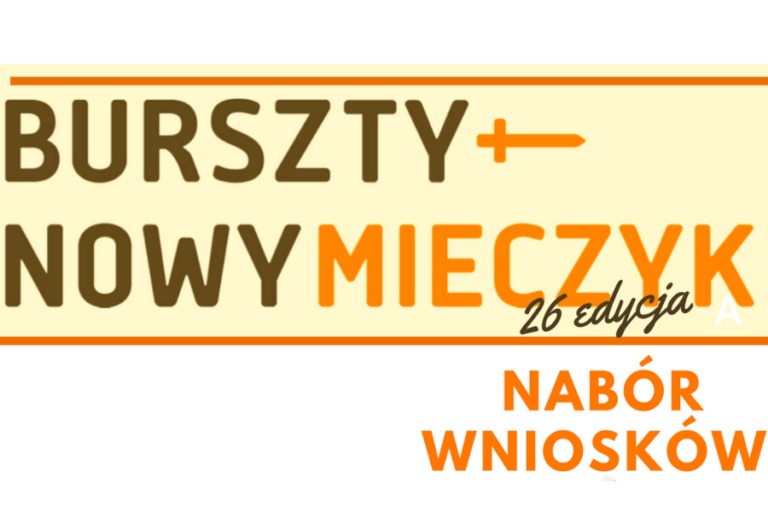 Nagroda Bursztynowego Mieczyka im. Macieja Płażyńskiego | nabór nominacji: 4 listopad br.