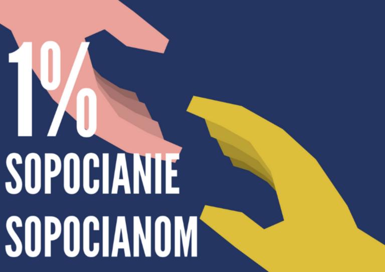 WSPIERAJ LOKALNIE – NIECH 1% ZOSTANIE W SOPOCIE