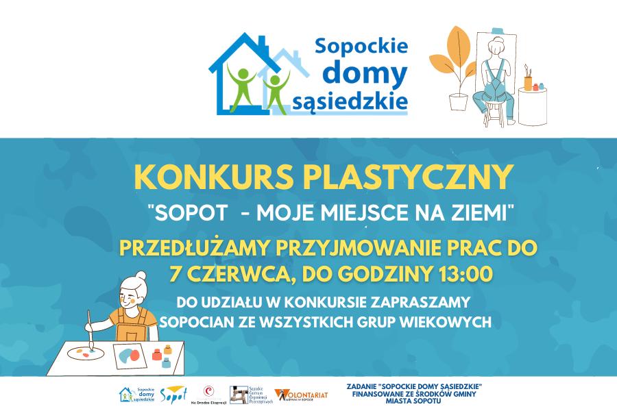 """Konkurs """"Sopot – moje miejsce na Ziemi"""" – przedłużony termin naboru prac do 7 czerwca"""