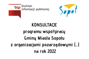 Konsultacje Programu Współpracy GMS na 2022 r. | do 10 września br.