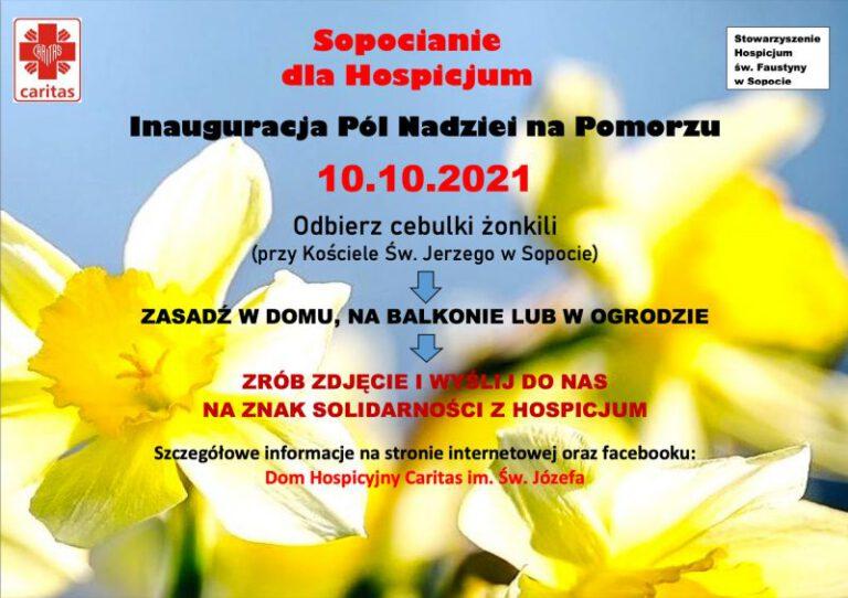 Inauguracja Pól Nadziei na Pomorzu | 10 październik